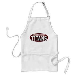 Gadsden City High School; Titans Standard Apron