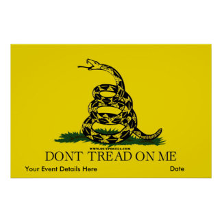 Gadsden - Don t Tread On Me poster