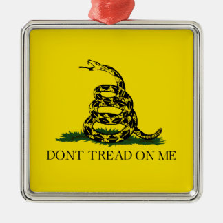 Gadsden Flag Christmas Ornament