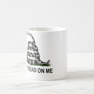 Gadsden flag coffee mug