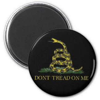 Gadsden Flag Coiled Snake Magnet
