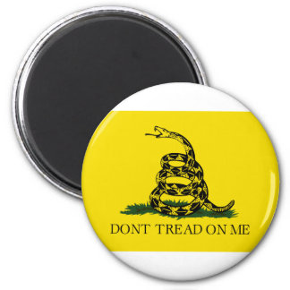 Gadsden Flag, Don't Tread On Me 6 Cm Round Magnet