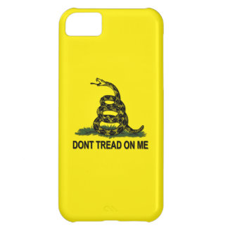 Gadsden Flag Dont Tread On Me iPhone 5C Covers
