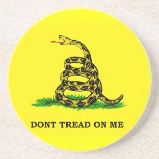 Gadsden Flag Don't Tread On Me Coaster