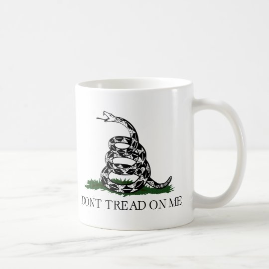 "Gadsden Flag ""Don't Tread On Me"" Coffee Mug"