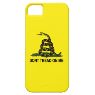 Gadsden Flag Dont Tread On Me Political iPhone 5 Covers