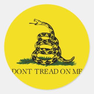 Gadsden Flag - Don't Tread On Me Stickers
