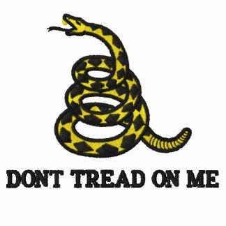 Gadsden Flag Embroidered Shirt
