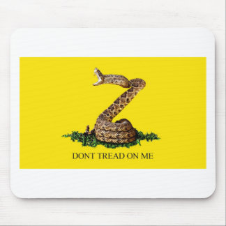 Gadsden Flag Full Mouse Pad