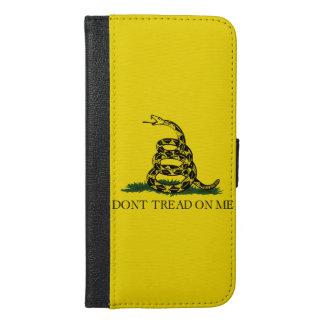 Gadsden Flag iPhone 6/6s Plus Wallet Case