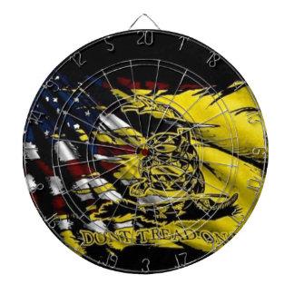 Gadsden Flag - Liberty Or Death Dartboard