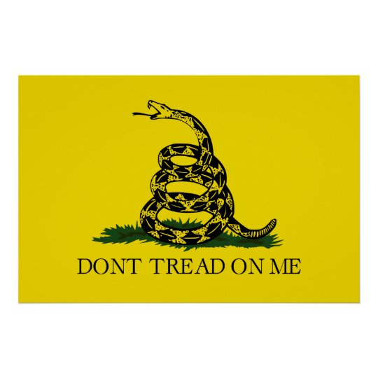Gadsden Flag Poster