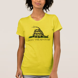 Gadsden Flag w/Transparent Background T-Shirt
