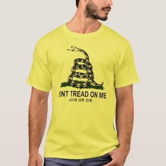 Gadsden Flag (Yellow) T-Shirt