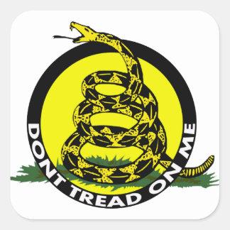 Gadsden Symbol - Don't Tread On Me Stickers
