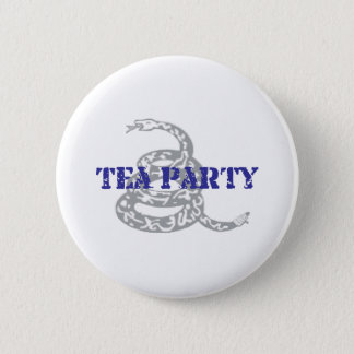 Gadsden Tea Party 6 Cm Round Badge