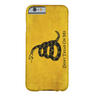 Gadsden Vintage Flag iPhone 6 case Barely There iPhone 6 Case