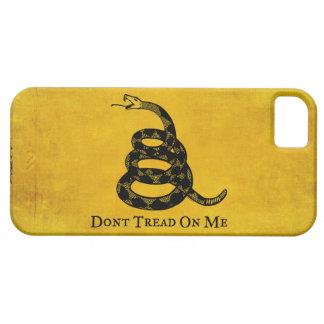 Gadsden Vintage Flag iPhone Case