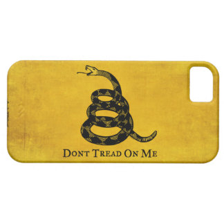 Gadsden Vintage Flag iPhone Case Barely There iPhone 5 Case