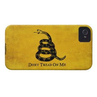 Gadsden Vintage Flag iPhone Case iPhone 4 Case-Mate Cases