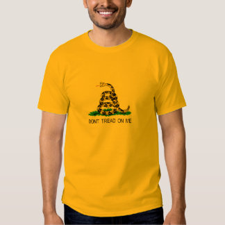 Gadsden with King Leonidas Quote T-shirts