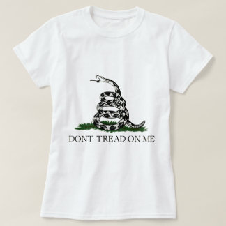 Gadsen Flag, Don't Tread On Me, Women's Shirt