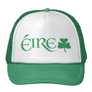Gaelic Éire Ireland Shamrock Symbol Irish Heritage Cap