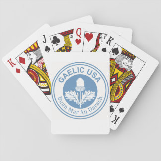 GaelicUSA Playing Cards