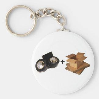 Gaffa Tape and Cardboard Olympics Key Ring