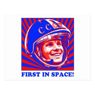 Gagarin Юрий Гагарин Postcard