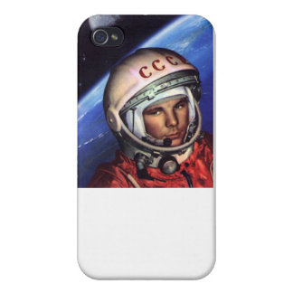Gagarin Cosmos USSR iPhone 4 Cover