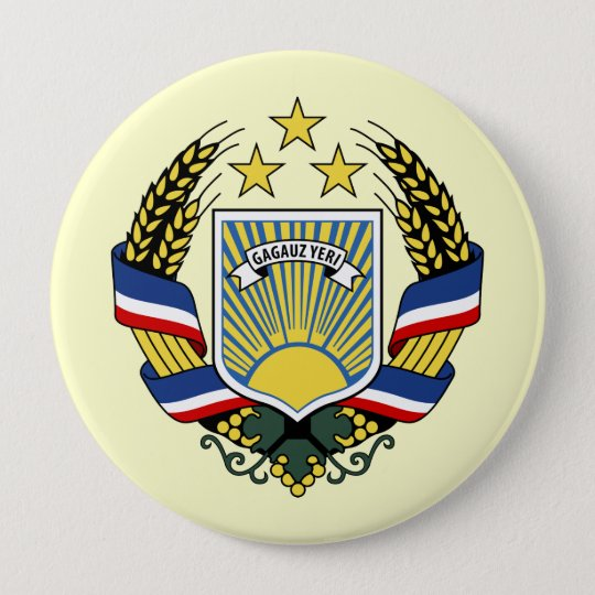 Gagauzia, Moldova 10 Cm Round Badge