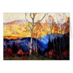 Gagnon - Golden Autumn, Laurentians Greeting Card