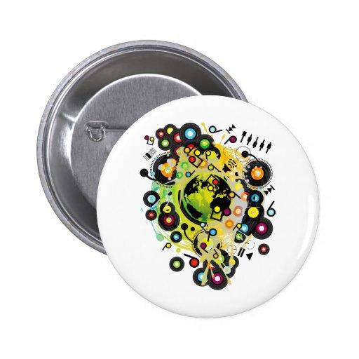 Gaia_Memories Pinback Button