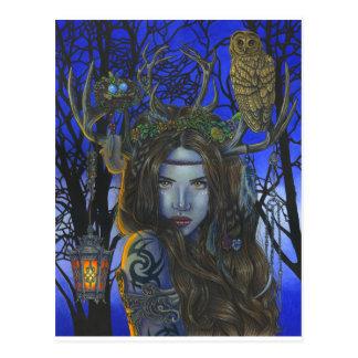"""""""Gaia"""" postcard"""