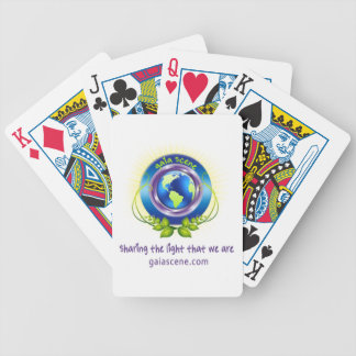 Gaia Scene Bicycle Brand Playing Cards