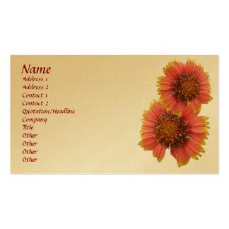 Gaillardia (Blanket Flower) Business Card