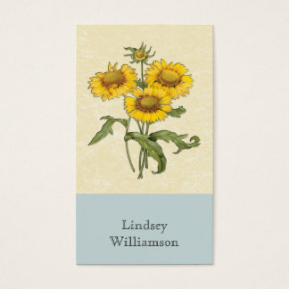 Gaillardia Sunflower Botanical Personalized