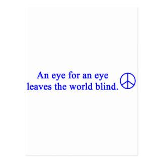 gail's peace design postcard