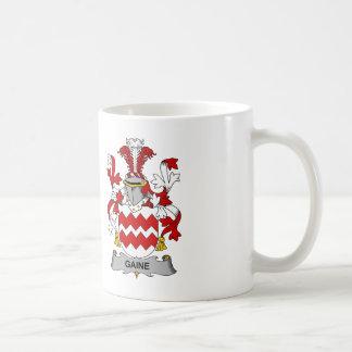 Gaine Family Crest Coffee Mug