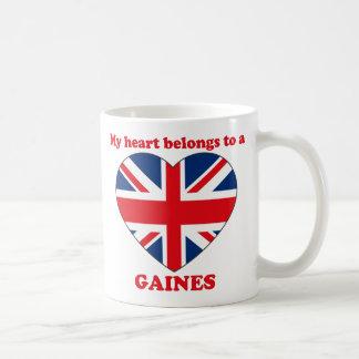 Gaines Basic White Mug