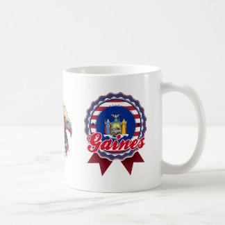 Gaines, NY Coffee Mug