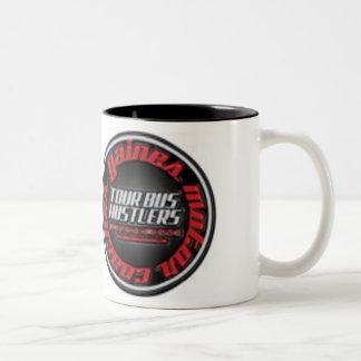 Gaines Tour Bus Hustlers Large coffee mug
