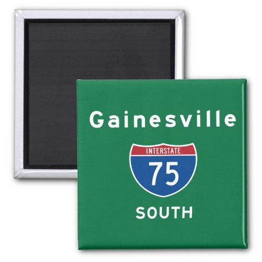 Gainesville 75 magnet