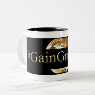 #GAINGROUNDS (TM) Two-Tone COFFEE MUG