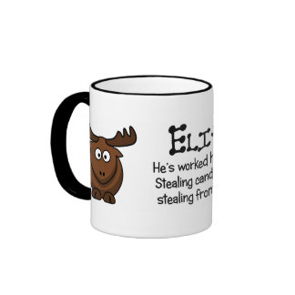 Gaining personal wealth is difficult ringer mug