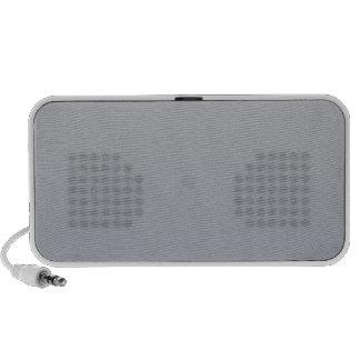 Gainsboro to Roman Silver Horizontal Gradient PC Speakers