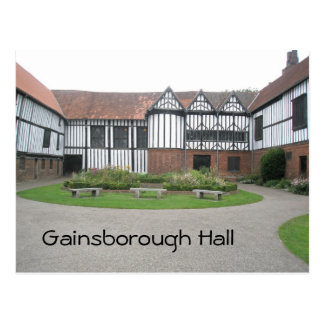 Gainsborough Hall Postcard