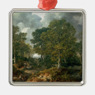 Gainsborough's Forest , c.1748 Christmas Ornament