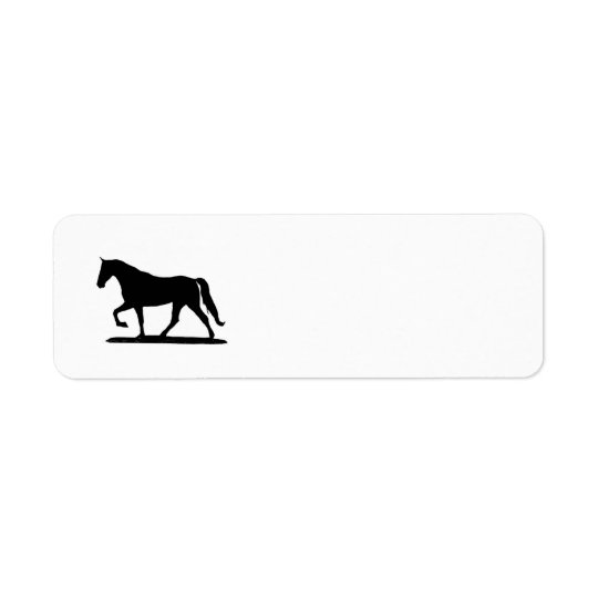 Gaited Horse Return Address labels